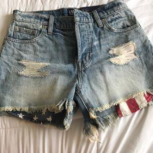 Gap American jean shorts